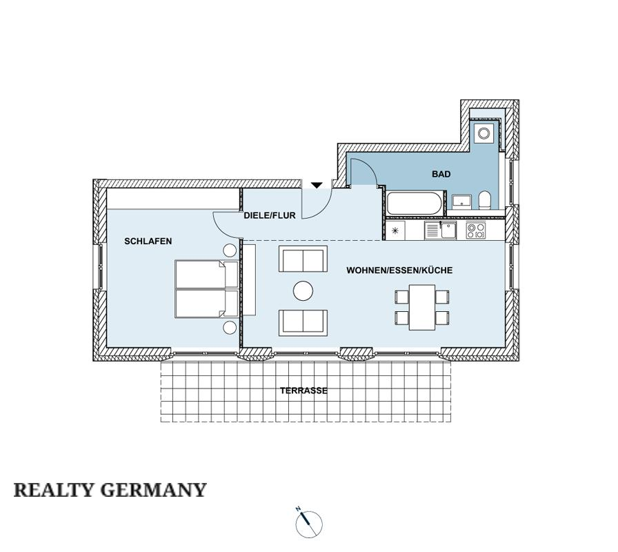 2 room new home in Berlin, 87 m², photo #9, listing #70787094